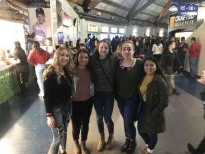 Miranda attended The Chainsmokers/5 Seconds of Summer/lennon Stella: World War Joy Tour on Dec 3rd 2019 via VetTix