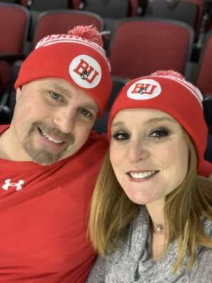 TIMOTHY attended Boston University vs. UMASS Lowell River Hawks - NCAA Men's Hockey on Jan 24th 2020 via VetTix