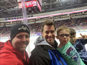 Cameron attended Boston University vs. UMASS Lowell River Hawks - NCAA Men's Hockey on Jan 24th 2020 via VetTix
