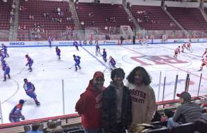 Oliver attended Boston University vs. UMASS Lowell River Hawks - NCAA Men's Hockey on Jan 24th 2020 via VetTix