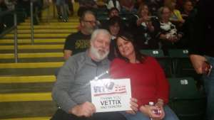 AUDIE attended Trans Siberian Orchestra on Nov 30th 2019 via VetTix