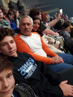 Paul attended Trans Siberian Orchestra on Nov 30th 2019 via VetTix