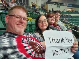 Rodney attended Trans Siberian Orchestra on Nov 30th 2019 via VetTix