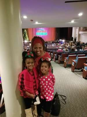 Donna attended Disney Jr. Holiday Party on Nov 18th 2019 via VetTix