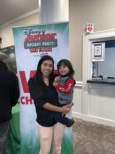 Javier attended Disney Jr. Holiday Party on Nov 18th 2019 via VetTix