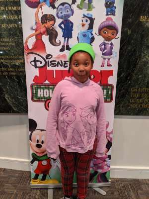 Sonya attended Disney Jr. Holiday Party on Nov 18th 2019 via VetTix