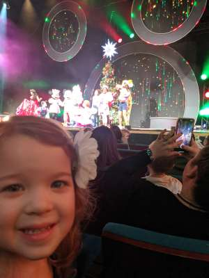 Benjamin attended Disney Jr. Holiday Party on Nov 18th 2019 via VetTix