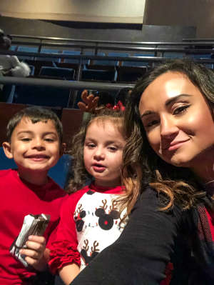 Jennifer attended Disney Jr. Holiday Party on Nov 18th 2019 via VetTix
