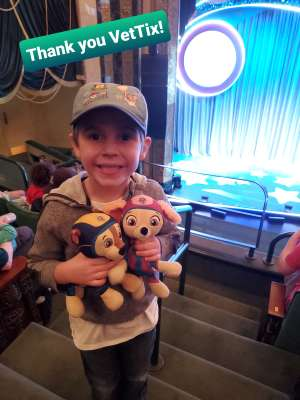 Kayla attended Nick Jr. Live! Move to the Music - Presented by Vstar Entertainment on Dec 15th 2019 via VetTix