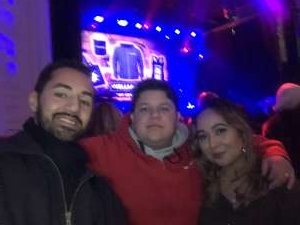 Andre attended Voyage - the Ultimate Journey Tribute Band on Dec 7th 2019 via VetTix