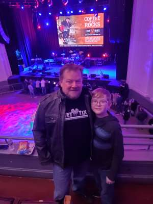 Andrew attended Voyage - the Ultimate Journey Tribute Band on Dec 7th 2019 via VetTix