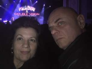 Al attended Voyage - the Ultimate Journey Tribute Band on Dec 7th 2019 via VetTix