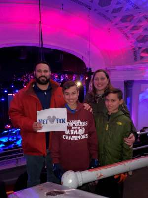 Matthew attended Voyage - the Ultimate Journey Tribute Band on Dec 7th 2019 via VetTix