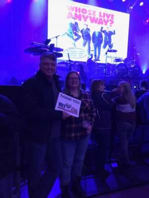 Steve attended Voyage - the Ultimate Journey Tribute Band on Dec 7th 2019 via VetTix