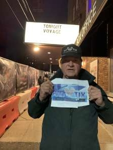 Ted attended Voyage - the Ultimate Journey Tribute Band on Dec 7th 2019 via VetTix