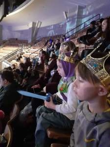 Kelly attended Disney on Ice Presents Celebrate Memories on Jan 9th 2020 via VetTix