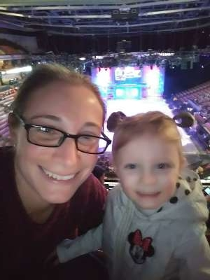 Maria attended Disney on Ice Presents Celebrate Memories on Jan 9th 2020 via VetTix