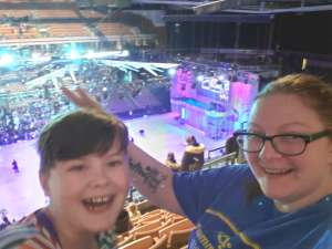 Mary attended Disney on Ice Presents Celebrate Memories on Jan 9th 2020 via VetTix