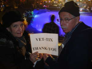 Richard attended Disney on Ice Presents Mickey's Search Party on Jan 1st 2020 via VetTix