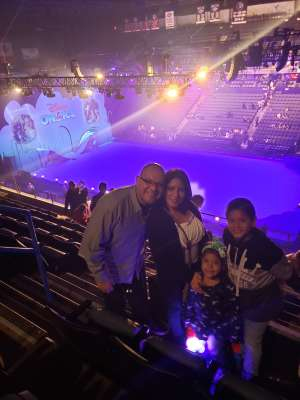 saul attended Disney on Ice Presents Mickey's Search Party on Jan 1st 2020 via VetTix