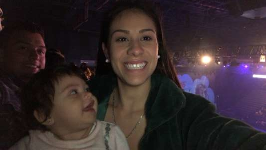 Tracy attended Disney on Ice Presents Mickey's Search Party on Jan 1st 2020 via VetTix