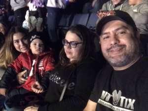 Angel Velazco attended Disney on Ice Presents Mickey's Search Party on Jan 1st 2020 via VetTix