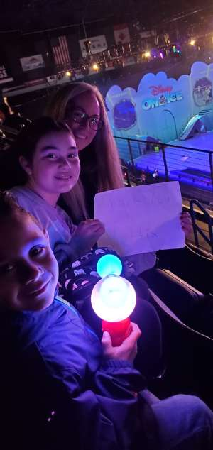 Angeline attended Disney on Ice Presents Mickey's Search Party on Jan 1st 2020 via VetTix