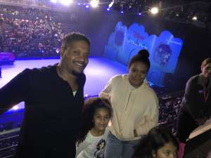 Nicholas attended Disney on Ice Presents Mickey's Search Party on Jan 1st 2020 via VetTix
