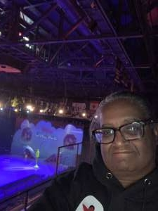 Denise attended Disney on Ice Presents Mickey's Search Party on Jan 1st 2020 via VetTix