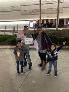 RL attended Disney on Ice Presents Mickey's Search Party on Jan 1st 2020 via VetTix