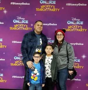 Jennifer attended Disney on Ice Presents Mickey's Search Party on Jan 1st 2020 via VetTix