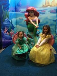 Bear attended Disney on Ice Presents Mickey's Search Party on Jan 1st 2020 via VetTix