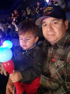 David attended Disney on Ice Presents Mickey's Search Party on Jan 1st 2020 via VetTix