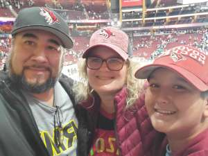 Mel Lo attended Arizona Coyotes vs. Toronto Maple Leafs - NHL on Nov 21st 2019 via VetTix