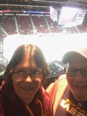 Paul attended Arizona Coyotes vs. Toronto Maple Leafs - NHL on Nov 21st 2019 via VetTix
