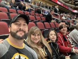 John attended Arizona Coyotes vs. Toronto Maple Leafs - NHL on Nov 21st 2019 via VetTix