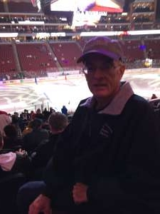 Keith attended Arizona Coyotes vs. Toronto Maple Leafs - NHL on Nov 21st 2019 via VetTix