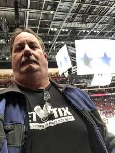 Bradley attended Arizona Coyotes vs. Toronto Maple Leafs - NHL on Nov 21st 2019 via VetTix