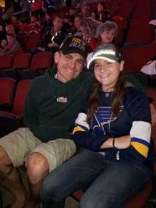 Michael attended Arizona Coyotes vs. Toronto Maple Leafs - NHL on Nov 21st 2019 via VetTix