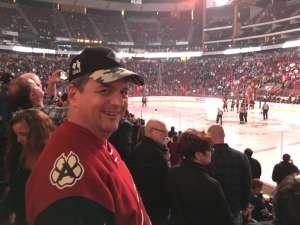 Randall attended Arizona Coyotes vs. Toronto Maple Leafs - NHL on Nov 21st 2019 via VetTix