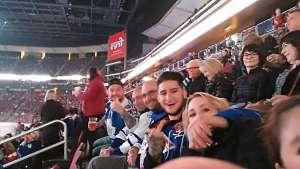 Henry attended Arizona Coyotes vs. Toronto Maple Leafs - NHL on Nov 21st 2019 via VetTix