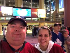 Jason attended Arizona Coyotes vs. Toronto Maple Leafs - NHL on Nov 21st 2019 via VetTix