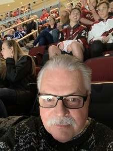 Wayne attended Arizona Coyotes vs. Toronto Maple Leafs - NHL on Nov 21st 2019 via VetTix