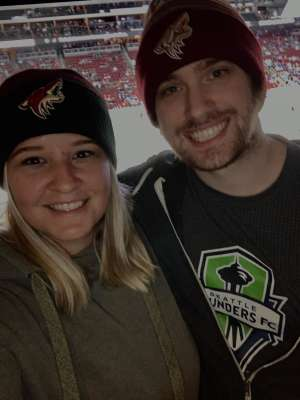 SARA attended Arizona Coyotes vs. Toronto Maple Leafs - NHL on Nov 21st 2019 via VetTix