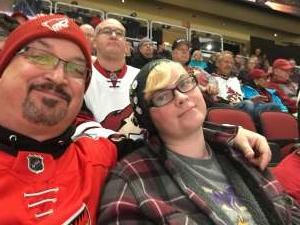 Don attended Arizona Coyotes vs. Toronto Maple Leafs - NHL on Nov 21st 2019 via VetTix