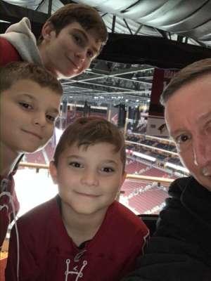 Brian C. attended Arizona Coyotes vs. Toronto Maple Leafs - NHL on Nov 21st 2019 via VetTix