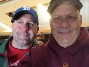 Al attended Arizona Coyotes vs. Toronto Maple Leafs - NHL on Nov 21st 2019 via VetTix