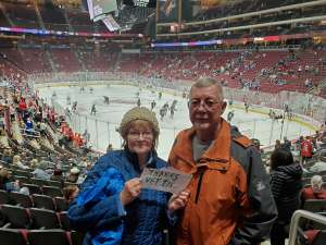 Ronald attended Arizona Coyotes vs. Toronto Maple Leafs - NHL on Nov 21st 2019 via VetTix