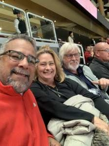 Samuel attended Arizona Coyotes vs. Toronto Maple Leafs - NHL on Nov 21st 2019 via VetTix