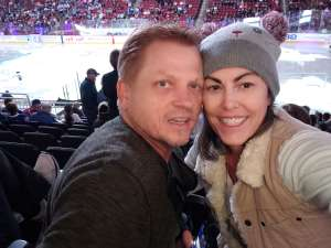 Denise attended Arizona Coyotes vs. Toronto Maple Leafs - NHL on Nov 21st 2019 via VetTix